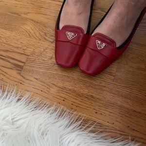 Prada Shoes - Red Prada Shoes